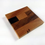 Singe Mixed Hardwood End Grain Coaster