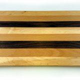 Mixed hardwood chopping board large