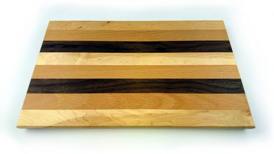 Mixed hardwood chopping board large
