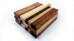 Toastie mixed hardwood chopping board stack
