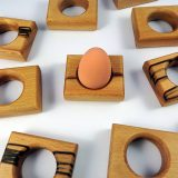 Group of Beech Egg Holders