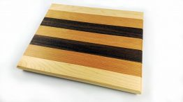 Mixed hardwood chopping board 300mm