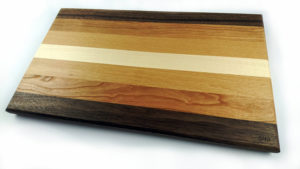 Mixed hardwood chopping board